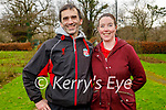 David and Tina Walsh enjoying a stroll in the Tralee Town park on Sunday.