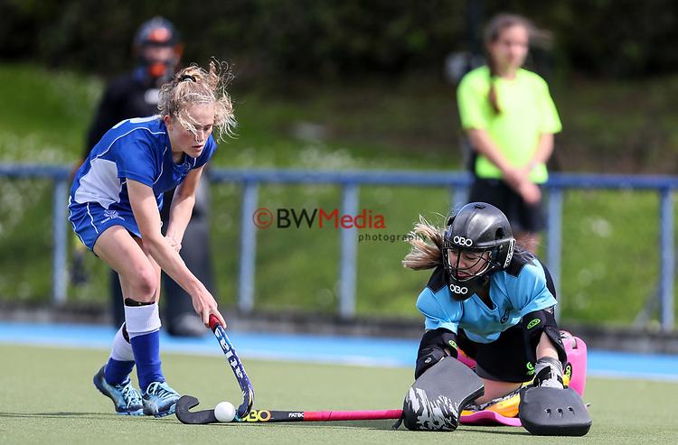 Marie Cup Cup Hockey Bronze  Final, St Kents v Waiarapa College, Lloyd Elsmore Park, Auckland, New Zealand, Saturday September 2019. Photo: Simon Watts/www.bwmedia.co.nz/HockeyNZ