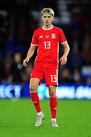David Brooks of Wales during the UEFA Nations League B match between Wales and Ireland at Cardiff City Stadium in Cardiff, Wales, UK.September 6, 2018