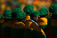 Photo of the opening ceremony of the World Cup 2010 South Africa at the Soccer City stadium of Johannesburg, South Africa.