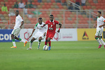Al Ahli (KSA) vs Al Ahli (UAE) during the 2015 AFC Champions League Group D match on April 07, 2015 at the King Abdullah Stadium in Jeddah, Saudi Arabia. Photo by Adnan Hajj / World Sport Group