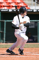 April 14th, 2008:  Brad Snyder (20) of the Buffalo Bisons, Class-AAA affiliate of the Cleveland Indians, during a game at Dunn Tire Park in Buffalo, NY.  Photo by:  Mike Janes/Four Seam Images