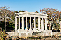 Plymouth Rock memorial site, Plymouth, Massachusetts, USA