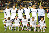 21 March 2009: New England Revolution Starting XI pose together for the picture before the game against the Earthquakes at Buck Shaw Stadium in Santa Clara, California. New England Revolution defeated Earthquakes, 1-0.