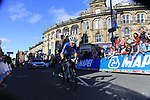 Elisa Longo Borghini (ITA) on the second circuit of Harrogate during the Women Elite Road Race of the UCI World Championships 2019 running 149.4km from Bradford to Harrogate, England. 28th September 2019.<br /> Picture: Eoin Clarke | Cyclefile<br /> <br /> All photos usage must carry mandatory copyright credit (© Cyclefile | Eoin Clarke)