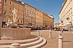 Piazza della Borsa in Trieste, Italy