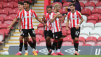 Said Benrahma celebrates scoring Brentford's second goal during Brentford vs Wigan Athletic, Sky Bet EFL Championship Football at Griffin Park on 4th July 2020