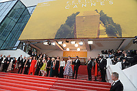 """FRA: """"THE BFG"""" Red Carpet- The 69th Annual Cannes Film Festival - Melanie Thierry Gunther Love, attend """"THE BFG"""". Red Carpet during The 69th Annual Cannes Film Festival on May 14, 2016 in Cannes, France."""