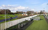 Nederland Amsterdam - 2021.   Amsterdam Zuid-Oost. Het Nelson Mandelapark (het vroegere Bijlmerpark) . Sportpark en recreatiegebied. Foto : ANP/ HH / Berlinda van Dam
