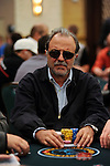 Anibal Tacla is close to the chip lead at the end of Day 1B.