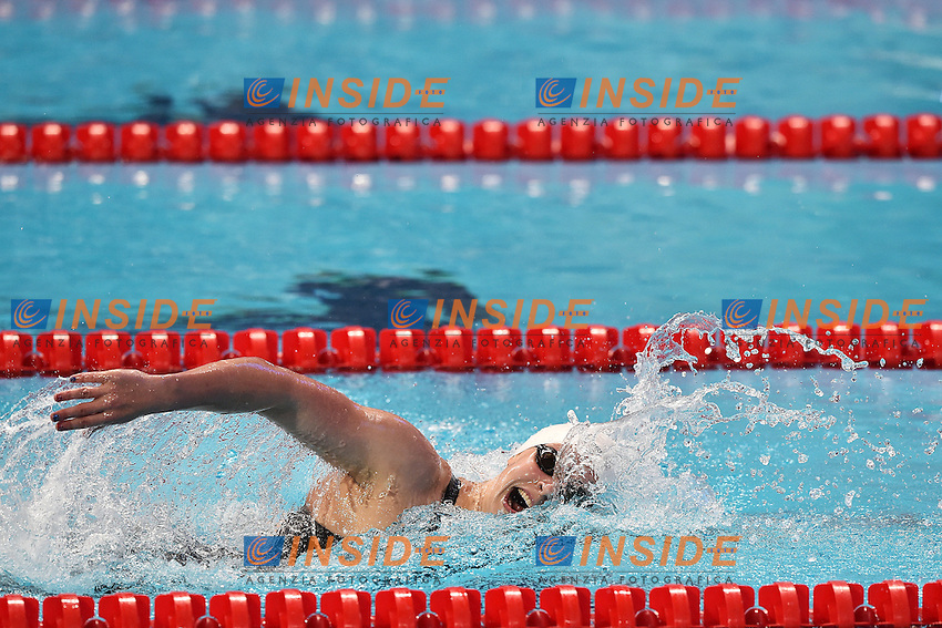 LEDECKY Katie USA Women's 400m Freestyle <br /> Day10 02/08/2015 Kazan Arena <br /> Swimming Nuoto <br /> XVI FINA World Championships Aquatics  <br /> Kazan Tatarstan RUS <br /> Photo Andrea Staccioli/Deepbluemedia/Insidefoto