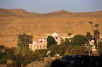 Nubian-style housing in Aswan, Egypt.