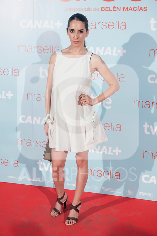 Nur Levi Botto poses at `Marsella´ film premiere photocall at Capital cinema in Madrid, Spain. July 17, 2014. (ALTERPHOTOS/Victor Blanco)