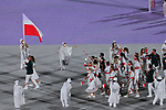 Poland delegation (POL),<br />JULY 23, 2021 : <br />Tokyo 2020 Olympic Games Opening Ceremony at the Olympic Stadium in Tokyo, Japan. <br />(Photo by MATSUO.K/AFLO SPORT)