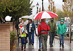 Residents walk along Carson Street during the Road to the Future celebration in downtown Carson City, Nev. on Friday, Oct. 28, 2016. <br />