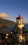 Heceta Head Lighthouse on the Oregon coast..#2308-3229