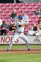 July 8, 2009: Tri-City Dust Devils outfielder Tim Wheeler at-bat during a Northwest League game against the Salem-Keizer Volcanoes at Volcanoes Stadium in Salem, Oregon.