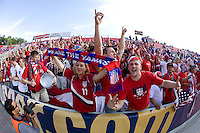 USA Fans during a World Cup Qualifying match at Rio Tinto Stadium, in Sandy, Utah, Friday, September 5, 2009.  .The USA won 2-1..