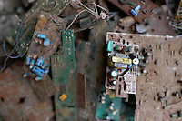 Computer circuit boards in a used electronics market in central Kolkata.<br /> <br /> To license this image, please contact the National Geographic Creative Collection:<br /> <br /> Image ID: 1925716 <br />  <br /> Email: natgeocreative@ngs.org<br /> <br /> Telephone: 202 857 7537 / Toll Free 800 434 2244<br /> <br /> National Geographic Creative<br /> 1145 17th St NW, Washington DC 20036