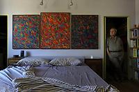 QUADRI IN AFFIDO -  Opere di Alberto Bardi nella casa di Riccardo Pieroni