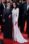 Maribel Verdu and Penelope Cruz attends red carpet of Goya Cinema Awards 2018 at Madrid Marriott Auditorium in Madrid , Spain. February 03, 2018. (ALTERPHOTOS/Borja B.Hojas)