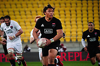 Caleb Clarke in action during the rugby match between North and South at Sky Stadium in Wellington, New Zealand on Saturday, 5 September 2020. Photo: Dave Lintott / lintottphoto.co.nz