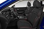 Front seat view of a 2019 Renault Kadjar Black-Edition 5 Door SUV front seat car photos