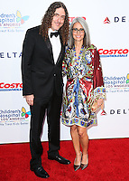 LOS ANGELES, CA, USA - OCTOBER 11: Weird Al Yankovic, Suzanne Krajewski arrive at the Children's Hospital Los Angeles' Gala Noche De Ninos 2014 held at the L.A. Live Event Deck on October 11, 2014 in Los Angeles, California, United States. (Photo by Xavier Collin/Celebrity Monitor)