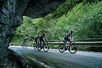 Harm Vanhoucke (BEL/Lotto Soudal) up the Passo di San Valentino (cat.1)<br /> <br /> 104th Giro d'Italia 2021 (2.UWT)<br /> Stage 17 from Canazei to Sega di Ala (193km)<br /> <br /> ©kramon