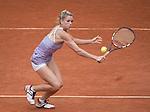 Camila Giorgi (ITA) loses to Svetlana Kuznetsova (RUS) 7-6, 6-3 at  Roland Garros being played at Stade Roland Garros in Paris, France on May 29, 2014
