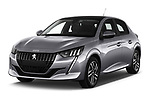 2020 Peugeot 208 Allure 5 Door Hatchback angular front stock photos of front three quarter view