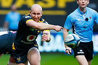 27th March 2021; Ricoh Arena, Coventry, West Midlands, England; English Premiership Rugby, Wasps versus Sale Sharks; Dan Robson of Wasps moves the ball at a ruck