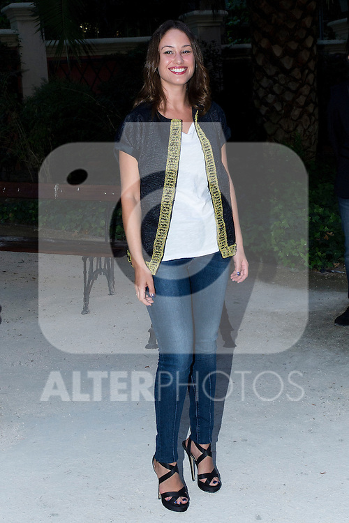 03.09.2012. Celebrities attending the Alvarno fashion show during the OFF Mercedes-Benz Fashion Week Madrid Spring/Summer 2013 at Museo Lazaro Galdiano. In the image Aida Folch (Alterphotos/Marta Gonzalez)