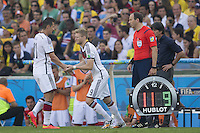 Andre Schurrle of Germany replaces Miroslav Klose
