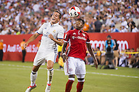 iEAST RUTHERFORD, NJ - Wednesday August 3, 2016: Bayern Munich takes on Real Madrid as part of the Guinness International Champions Cup at MetLife Stadium, home of the New York Jets and Giants.