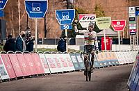 CX world champion Mathieu Van der Poel (NED/Alpecin-Fenix) wins the 2021 GP Sven Nys in Baal (BEL)<br /> <br /> ©kramon