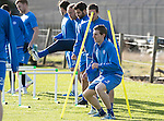 St Johnstone Training….28.10.16<br />Blair Alston pictured during training this morning at McDiarmid Park ahead of tomorrow's game against Partick Thistle.<br />Picture by Graeme Hart.<br />Copyright Perthshire Picture Agency<br />Tel: 01738 623350  Mobile: 07990 594431