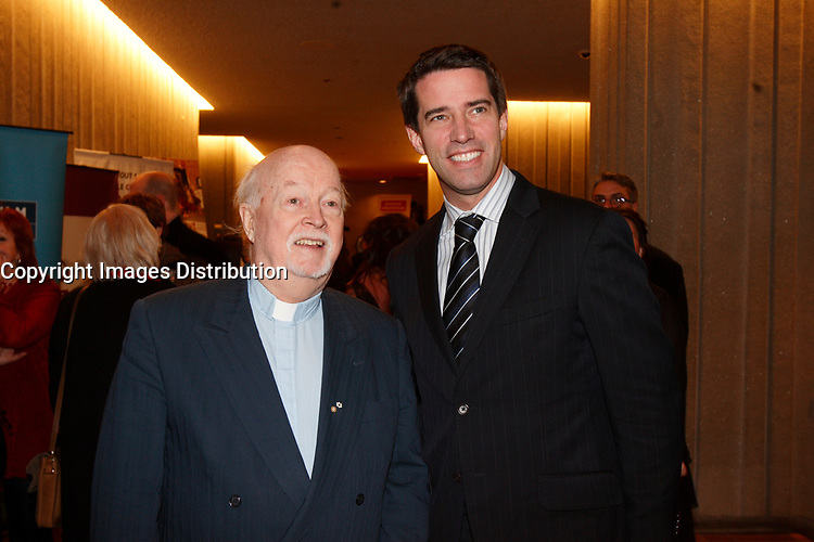 "Father John ""pops"" Emmett (L) and<br />
