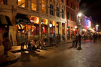 Visitors from all over the world converge on 6th Street for the annual SXSW Music Festival