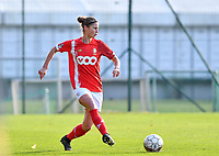 Ellen Charlier of Standard (13) pictured during a female soccer game between Standard Femina de Liege and Club Brugge YLA on the seventh matchday of the 2020 - 2021 season of Belgian Scooore Womens Super League , saturday 14 th of November 2020  in Angleur , Belgium . PHOTO SPORTPIX.BE | SPP | DAVID CATRY