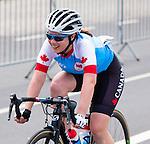 Marie-Claude Molnar, Rio 2016 - Para Cycling // Paracyclisme.<br /> Team Canada competes in the Women's Cycling Road C4-5 Race // Équipe Canada participent à la course cycliste féminine C4-5 sur route. 17/09/2016.