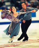 Debbie Koegel and Oleg Fediukov of the United States compete at Skate Canda. Photo copyriight Scott Grant.