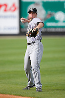 Lee Mitchell #33 of the Jacksonville Suns warms up at Five County Stadium May 18, 2009 in Zebulon, North Carolina. (Photo by Brian Westerholt / Four Seam Images)