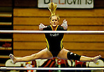 Towson's Kady Sullivan competes in the 3-Way Meet between Towson University, Rutgers University and Yale at Towson University in Maryland on March 11, 2011.