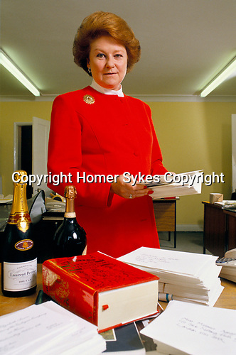 Lady Elizabeth Anson, Queen's cousin, owns 'Party Planners'.