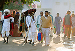 Walking home from market, Rajasthan, India