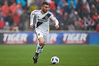 Bridgeview, IL - Saturday April 14, 2018: Romain Alessandrini during a regular season Major League Soccer (MLS) match between the Chicago Fire and the LA Galaxy at Toyota Park.  The LA Galaxy defeated the Chicago Fire by the score of 1-0.