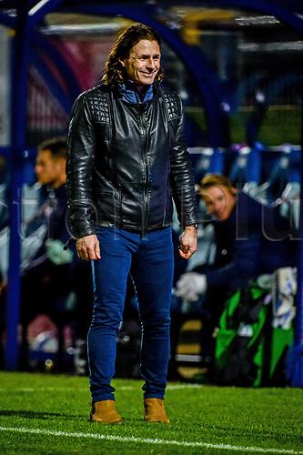 21st November 2020; Adams Park Stadium, Wycombe, Buckinghamshire, England; English Football League Championship Football, Wycombe Wanderers versus Brentford; Gareth Ainsworth Wycombe manager.