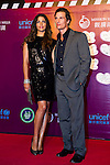 HAIKOU, CHINA - OCTOBER 29:  Hollywood actor Matthew McConaughey and his wife Camila Alves attend red carpet during day three of the Mission Hills Start Trophy tournament at Mission Hills Resort on October 29, 2010 in Haikou, China. Photo by Victor Fraile / The Power of Sport Images