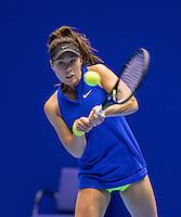 Rotterdam, Netherlands, December 14, 2016, Topsportcentrum, Lotto NK Tennis,  Jaimy-Gayle van de Wal (NED)<br /> Photo: Tennisimages/Henk Koster